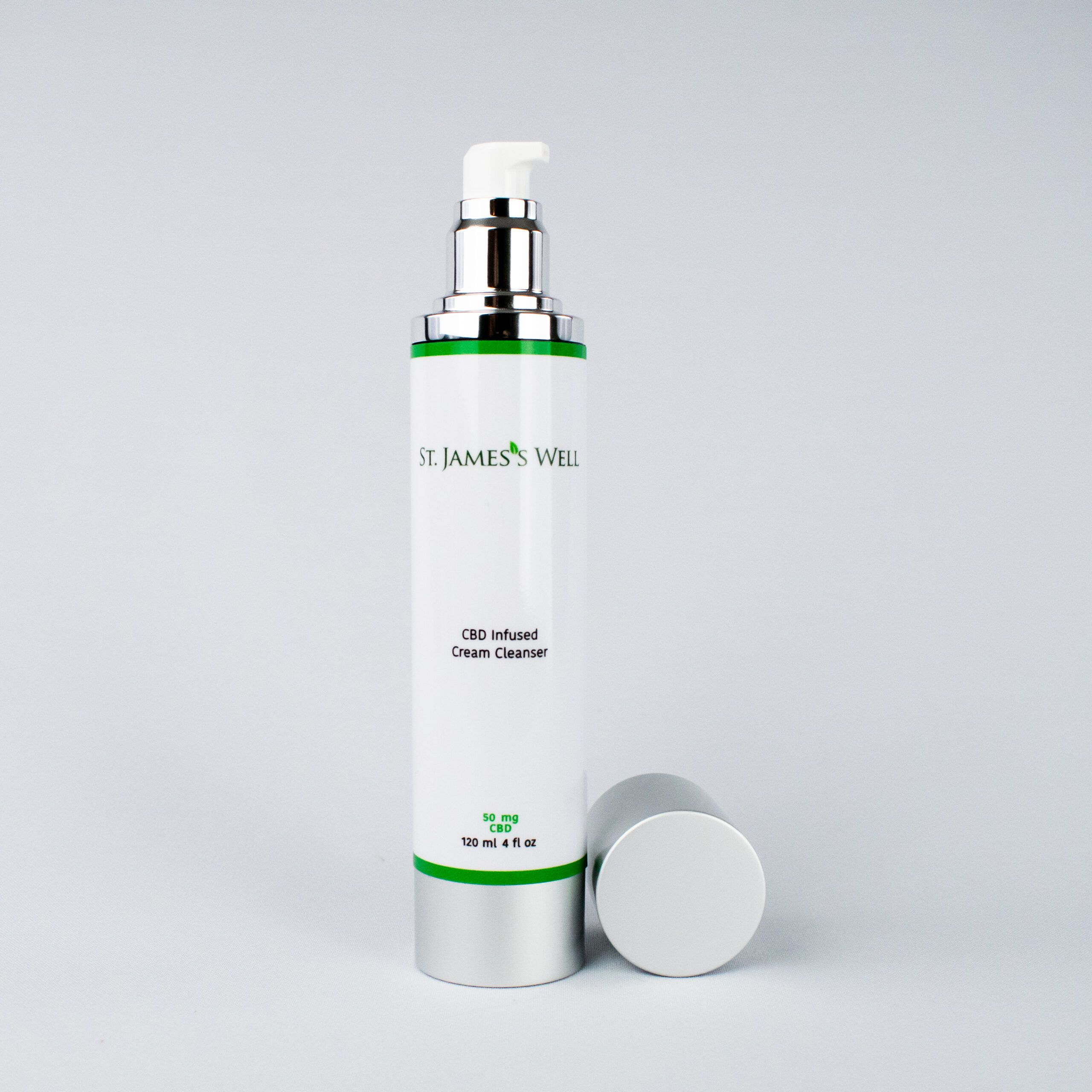 St. James's Well CBD Infused Cream Cleanser